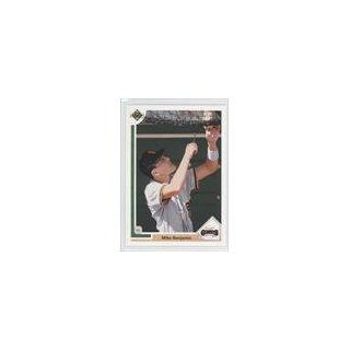 Mike Benjamin Ryan W. Zimmerman, San Francisco Giants (Baseball Card