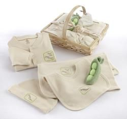 Baby Aspen Sweet Pea Organic Cotton 5 Piece Layette Set