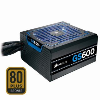 Alimentation PC 600 Watt   Certifié 80PLUS Bronze   Ventilat 140mm