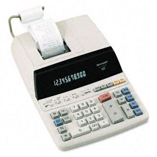 Sharp EL1197PIII 2 Color Print Desktop Calculator Today $78.99