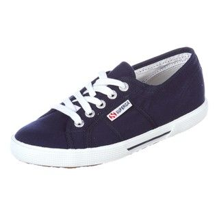 Superga Womens 2950 Cot Midnight Navy Shoes