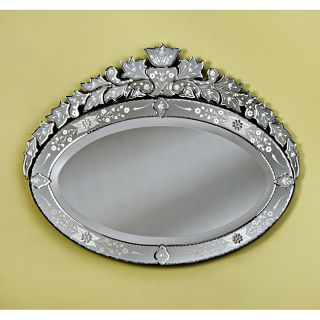 Mirrors by Venetian Large Lea Venetian Wall Mirror