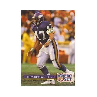 1992 Pro Set #235 Joey Browner Collectibles