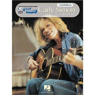 Play Today Volume 221 Carly Simon 9780793508754 Books