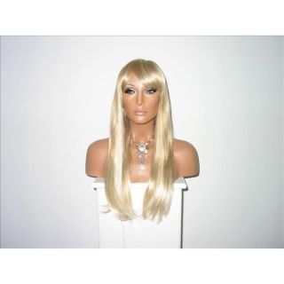 Star Flow Blonde Full Lace 24 inch Human Hair Wig