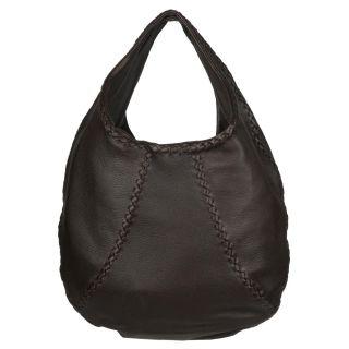 Bottega Veneta Brown Leather Hobo Bag