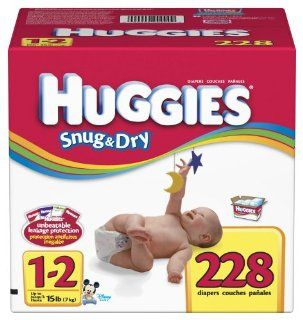 Huggies Snug & Dry Diapers, Size 1 2, 228 Count Explore similar items