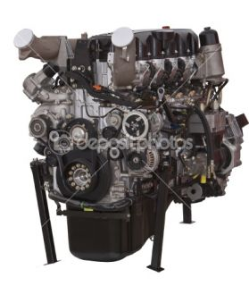 Car engine  Foto Stock © Radu Razvan #1994600