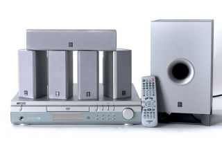 Yamaha DVX S60 5.1 DVD Home Theater System (Refurbished)
