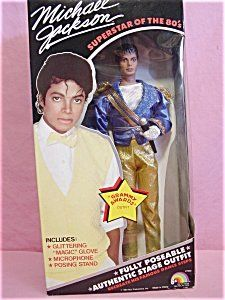 Michael Jackson Barbie Doll Superstar of the 80s Grammy