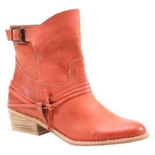 Womens Diba Char Rity Burnt Orange Leather