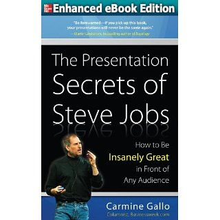 The Presentation Secrets of Steve Jobs How to Be Insanely Great in