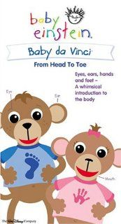 Baby Da Vinci From Head to Toe (Baby Einstein) [VHS