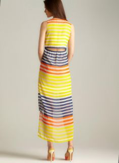 Romeo & Juliet Couture Sailor Stripe Hi lo Maxi