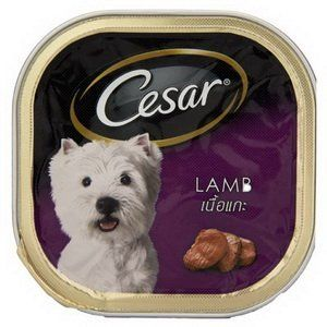 Cesar Dog Food Lamb in Meaty Juices for Small Dog 100