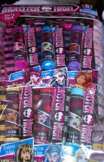 Monster High Lip Balm 6 Pack Set Freaky Flavor to Go Toys