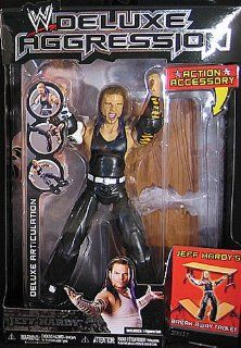 JEFF HARDY   DELUXE AGGRESSION 7 WWE TOY WRESTLING ACTION