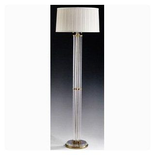 Solid Brass And Crystal Floor Lamp Home Improvement