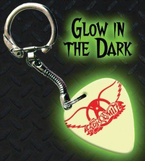 Aerosmith Glow In The Dark Premium Guitar Pick Keyring