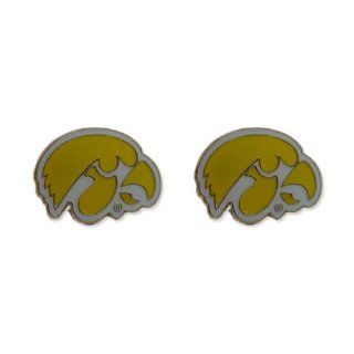Iowa Hawkeyes Post Stud Logo Earring Set Ncaa Charm