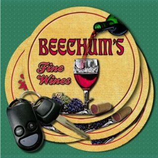 BEECHUMS Family Name Fine Wines Coasters: Everything Else