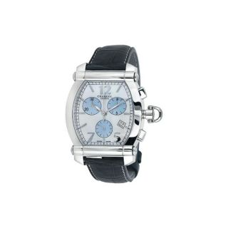 Charriol Womens Lady Jet Set Black Strap Watch