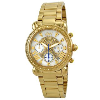 JBW Womens Gold Steel Bronx Gold Diamond Watch