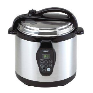 Nesco PC6 25P 6 Quart Electric Programmable Pressure Cooker, Stainless