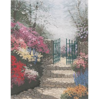 Thomas Kinkade The Garden Of Promise Counted Cross Stitch Kit Today: $