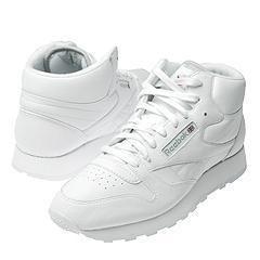 Reebok Lifestyle Classic Leather Mid White/White