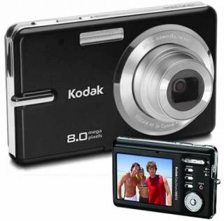 Kodak M873 Black Digital Camera (Refurbished)