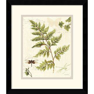 Lisa Audit Ivies and Ferns I Framed Art Print