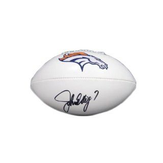 John Elway Signed Denver Broncos Full Size Signature Series Football
