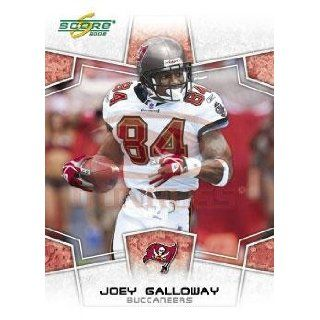 2008 Score #305 Joey Galloway   WR   Tampa Bay Buccaneers