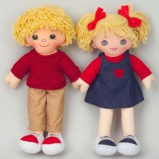 Dexter Educational Toys DEX306W Dexter Boy and Girl Dolls