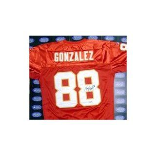 Tony Gonzalez autographed Football Jersey (Kansas City