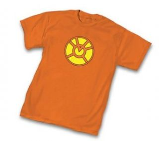 Green Lantern Orange Lantern Corps Symbol Orange Adult T