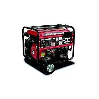 Gentron 7500 Watt Portable Gas Generator with Electric