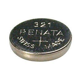 Silver Oxide Watch Battery For Renata 321 Button Cell