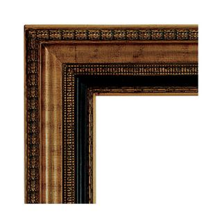 Rectangular Framed Mahogany Wall Mirror