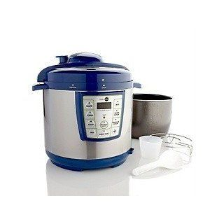GreenPan Premier Pressure Cooker with the Power of Thermolon   BLUE