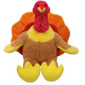 Build A Bear Workshop 15 in. Turkey Plush Stuffed Animal