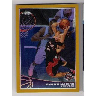 SHAWN MARION 2009 10 Topps Chrome #90 GOLD REFRACTOR PARALLEL Card #11