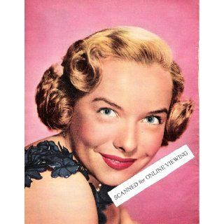 Pretty Classic Actress Diana Lynn 1951 Color Picture