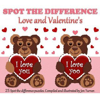 Spot the difference   Love and Valentines Jen Turner