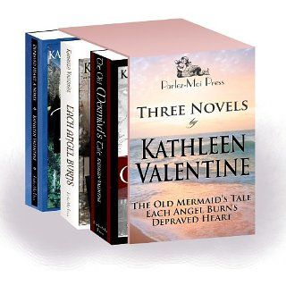 Three Novels: The Old Mermaids Tale, Each Angel Burns, Depraved Heart