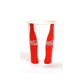 Coca Cola 328P1727 32 Ounce Capacity Paper Cold Cups VIS (15 Packs of