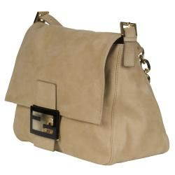 Fendi Forever Beige Big Mama Shoulder Bag