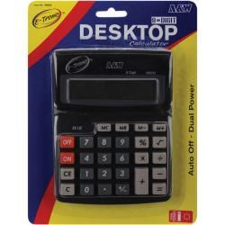 Desktop Calculator 8 digit Dual Power Today $9.79 5.0 (2 reviews)