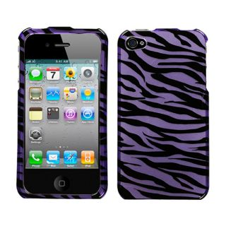Universal Purple Zebra Case for Apple iPhone 4/ 4S